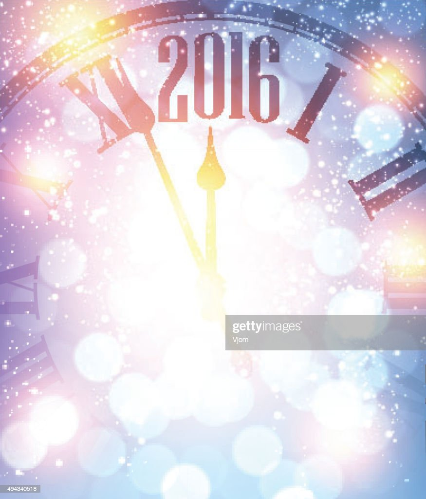 New Year 2016  background