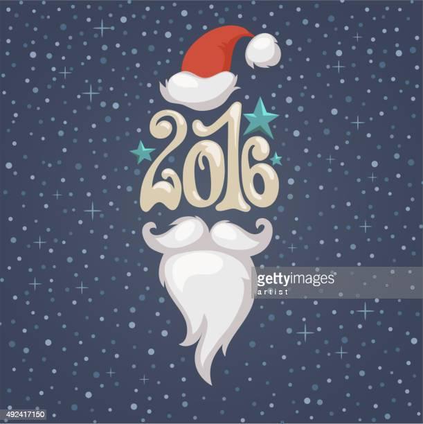 new year background - beard stock illustrations, clip art, cartoons, & icons