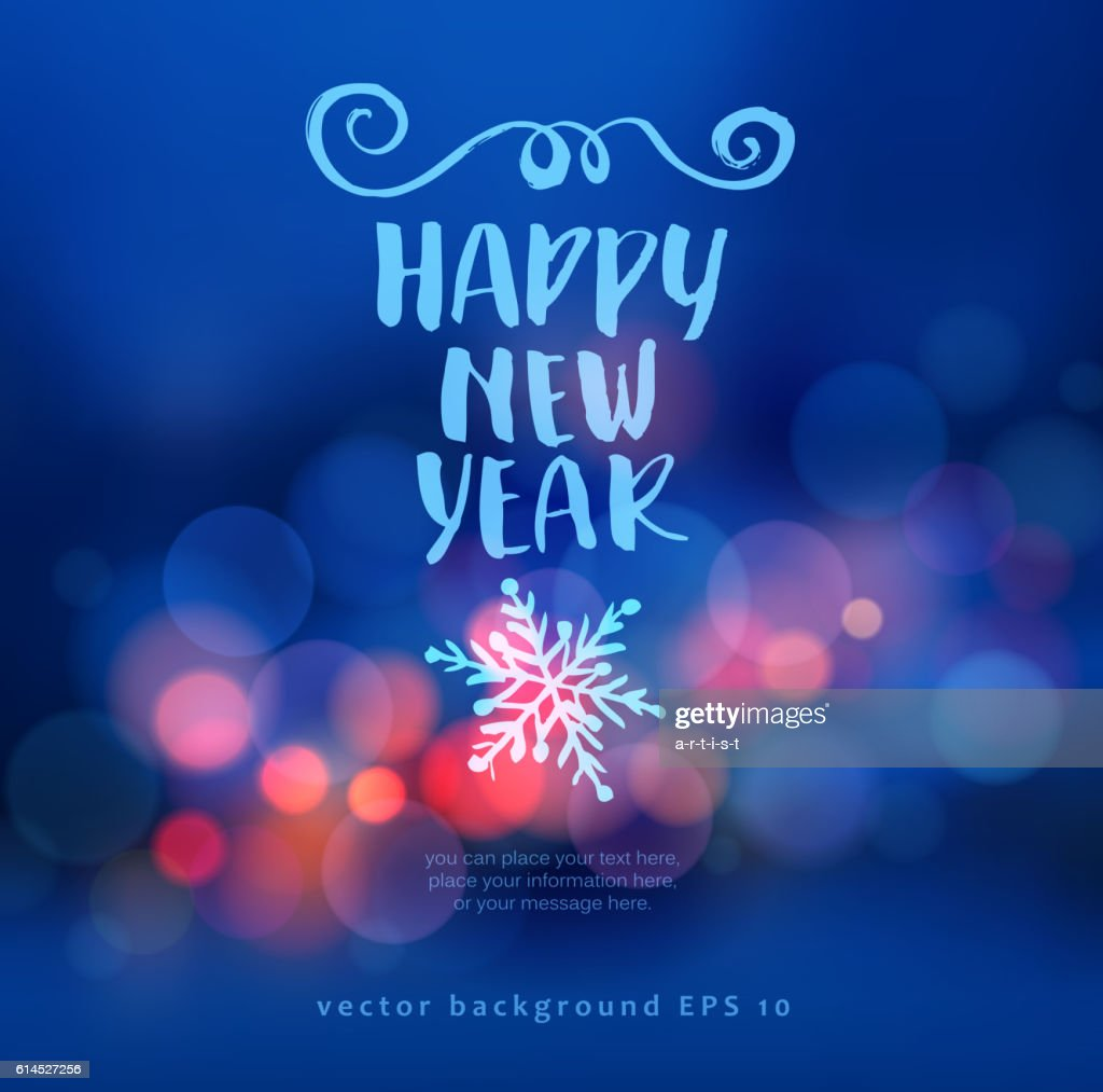 New Year Background Vector Art | Getty Images
