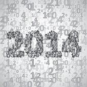 New Year celebration illustration
