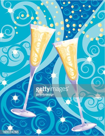 new year celebration toast vector art getty images