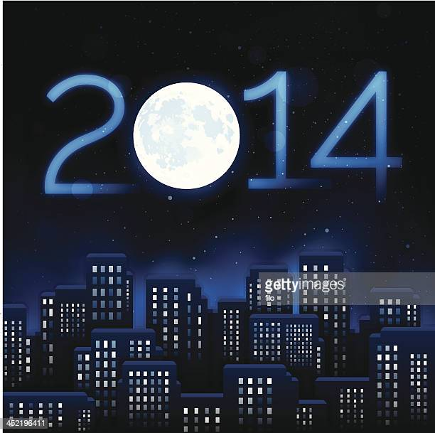 New Year City 2014