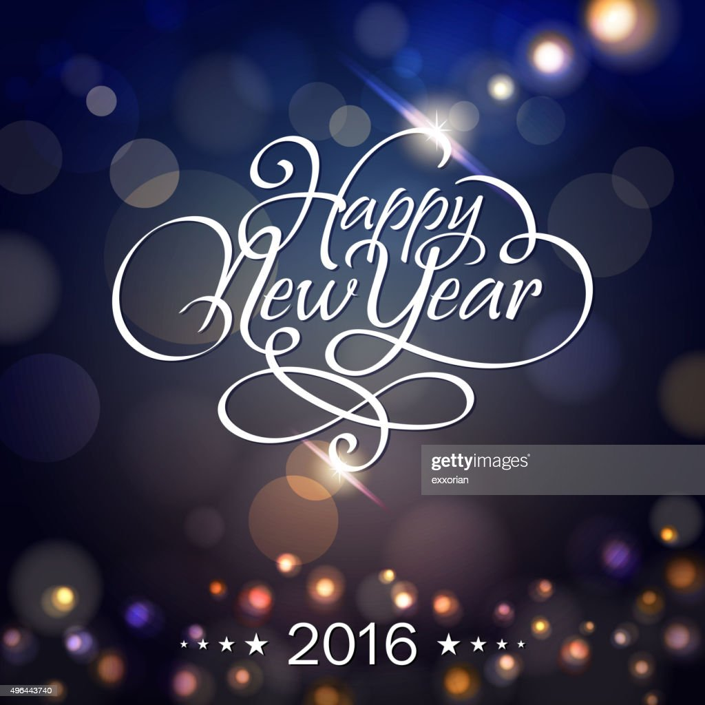 New Year lighting background : Vector Art