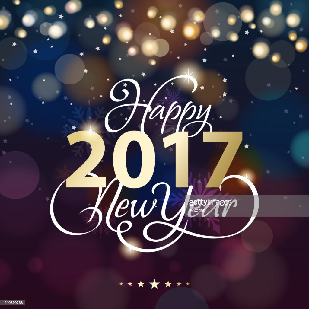 new year lighting background vector art