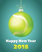 New Year Tennis Ball for the Year of the Dog