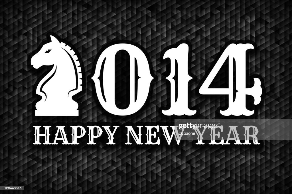 New Year's 2014 Holiday Greeting Card