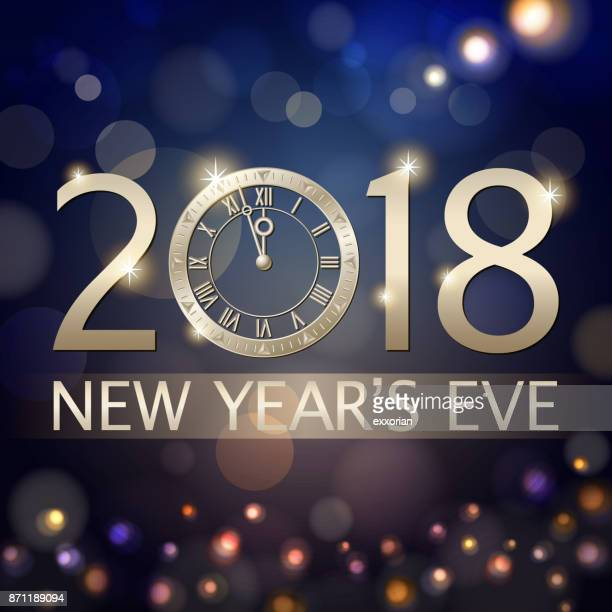 New Year's Eve nedräkning 2018
