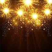 New Year's Fireworks - Illustration