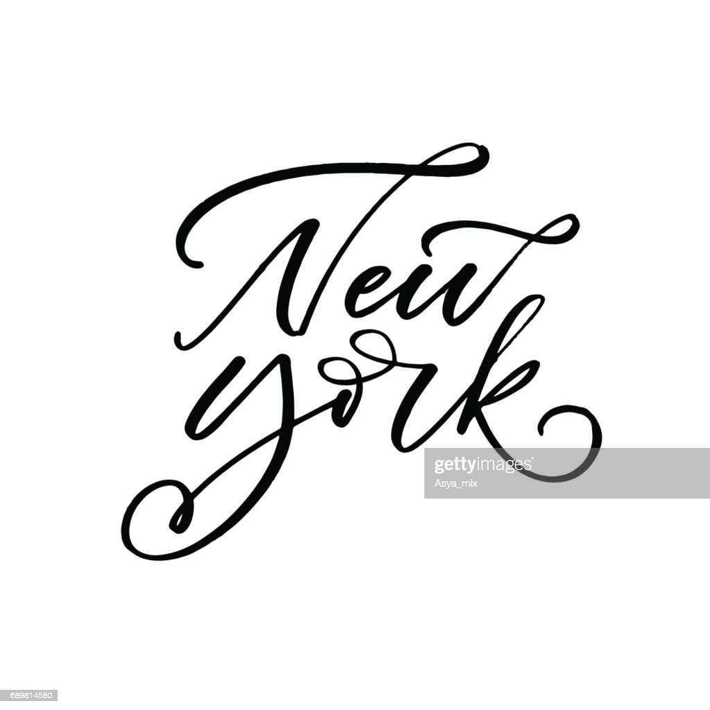 New York card.
