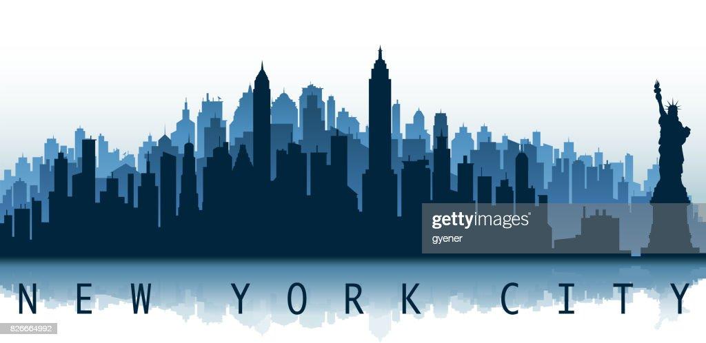 new york city label : stock illustration
