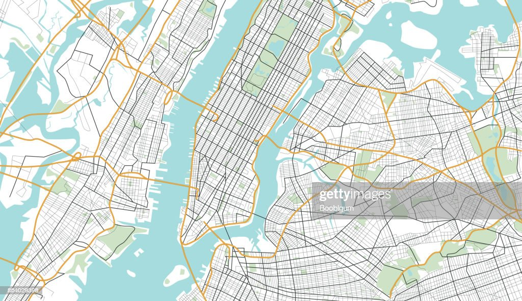 New York City Map.