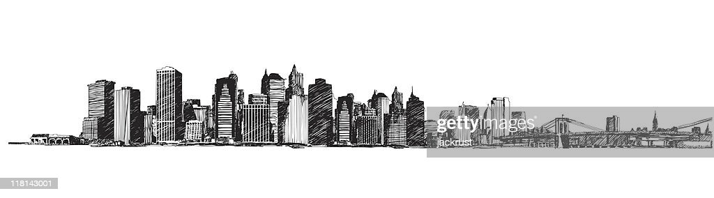 New York City Skyline (vector)