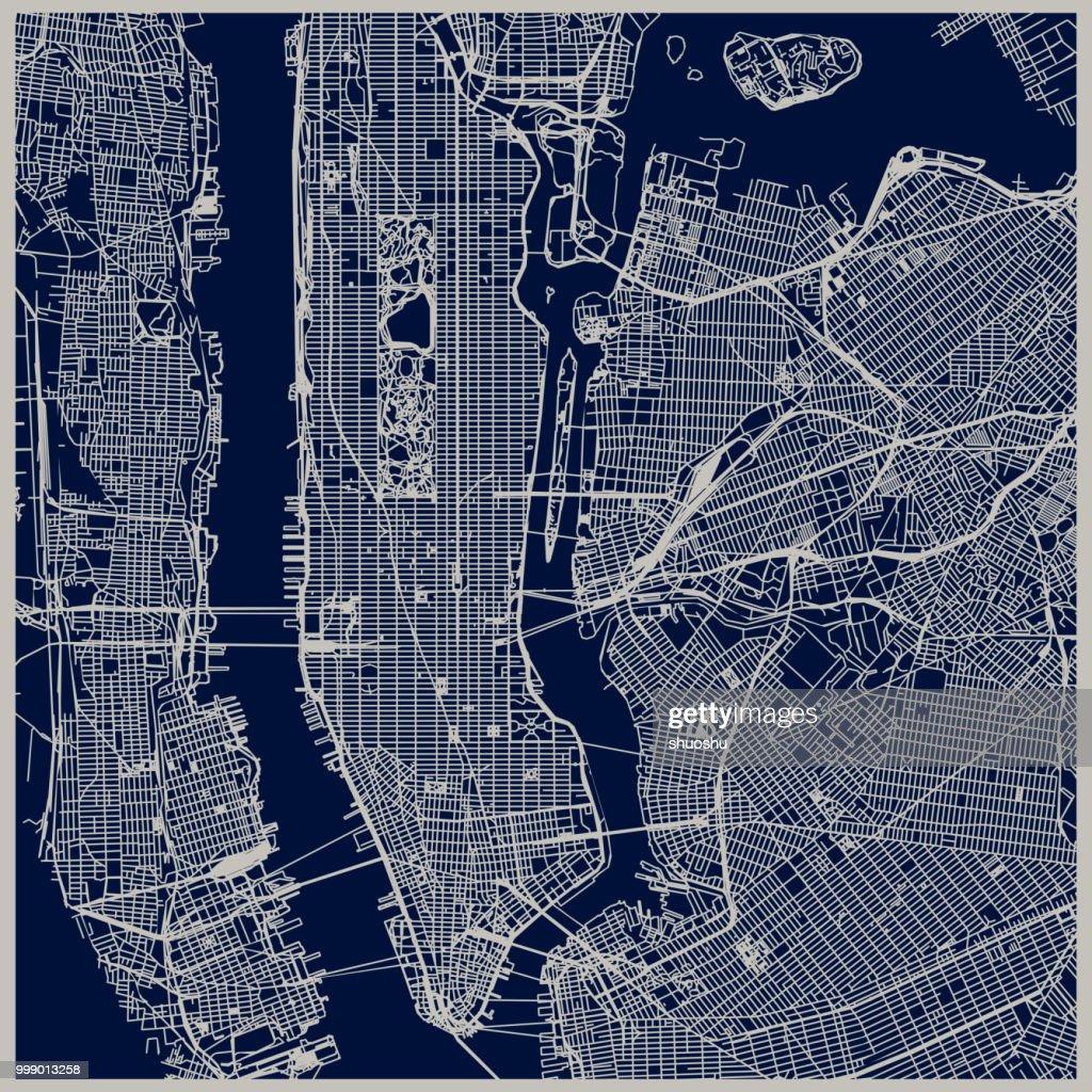 New York city structure : stock illustration