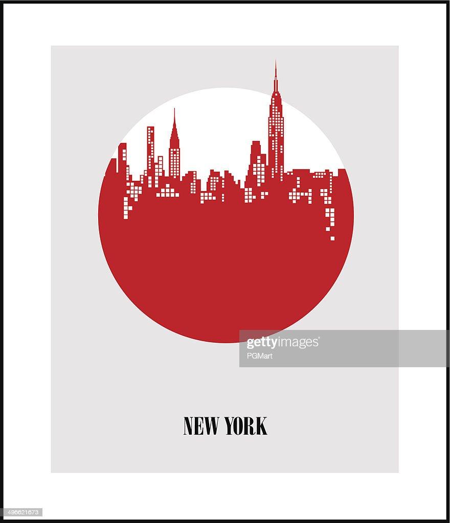 New York City - The Big Apple. Poster