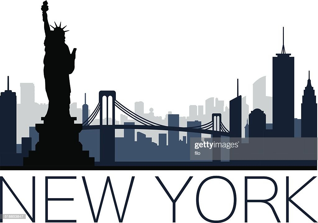 New York City : stock illustration