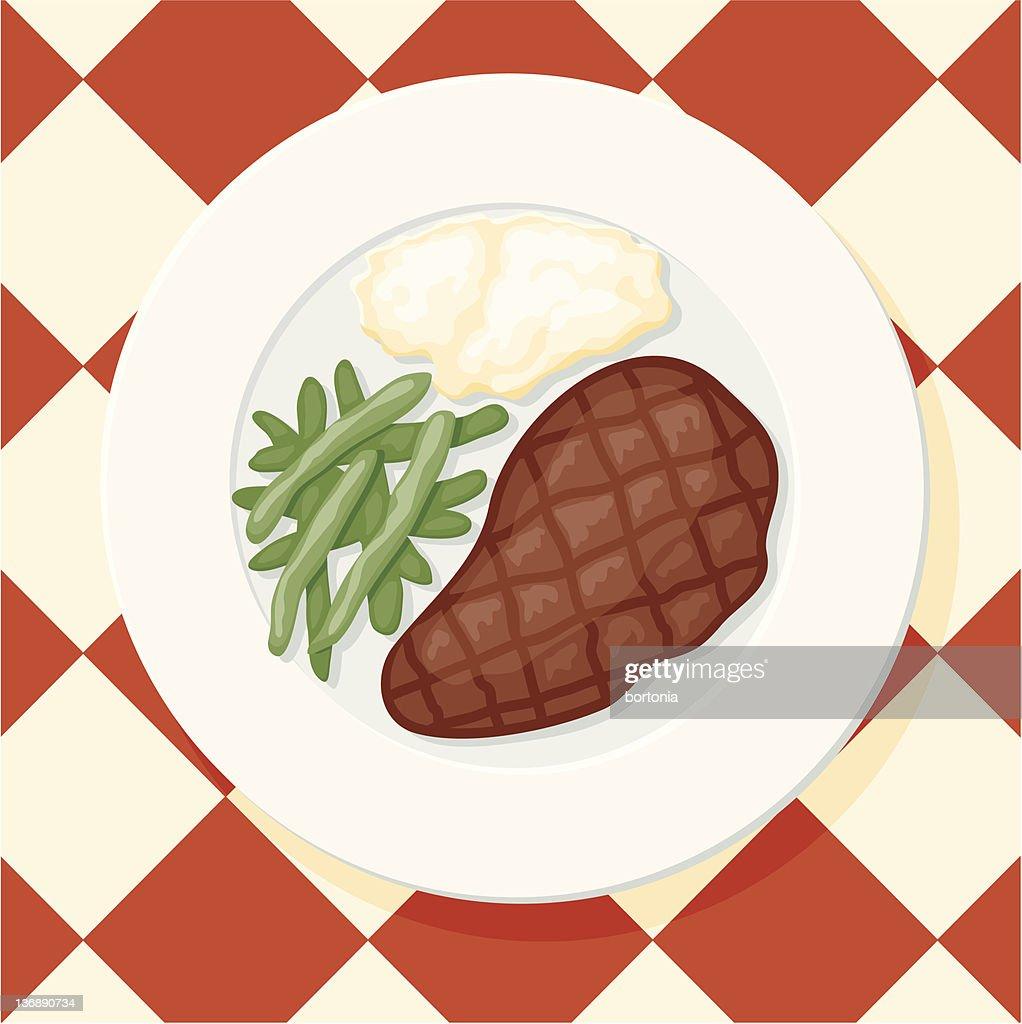 New York Cut Steak : stock illustration