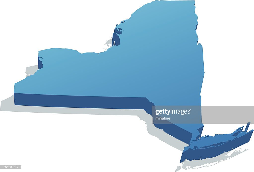 New York Map High Res Vector Graphic Getty Images