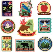 New York State travel stickers