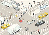 New York Street Illustration