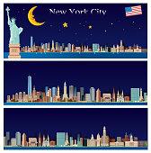 vector new york travel