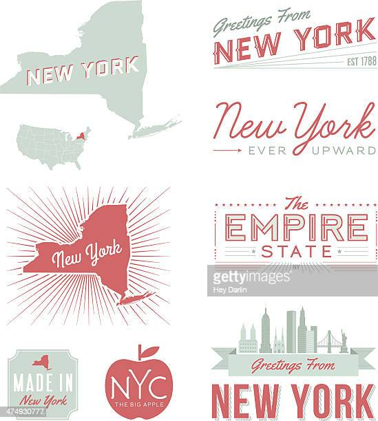New York City Typografie