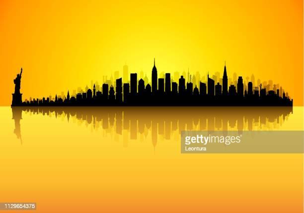 New York (alle Gebäude sind beweglich und komplette)