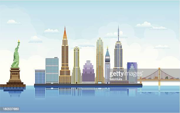 new york - chrysler building stock illustrations, clip art, cartoons, & icons