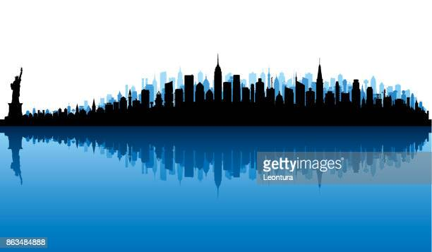 new york (all buildings are moveable and complete) - chrysler building stock illustrations, clip art, cartoons, & icons