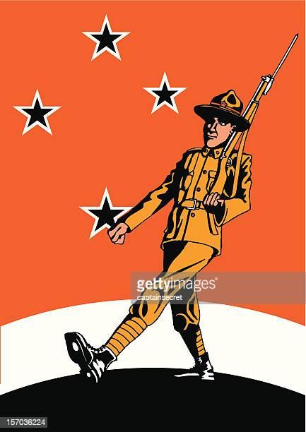 Nouvelle-Zélande ANZAC Soldier