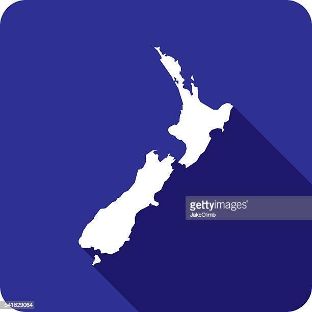 New Zealand Icon Silhouette