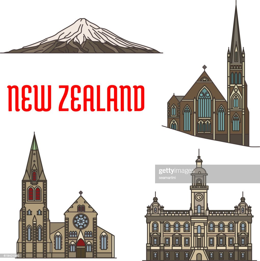 New Zealand tourist attractions and landmarks