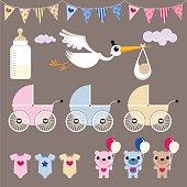 Newborn baby shower images