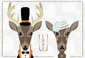 Newlywed - Doe and Deer