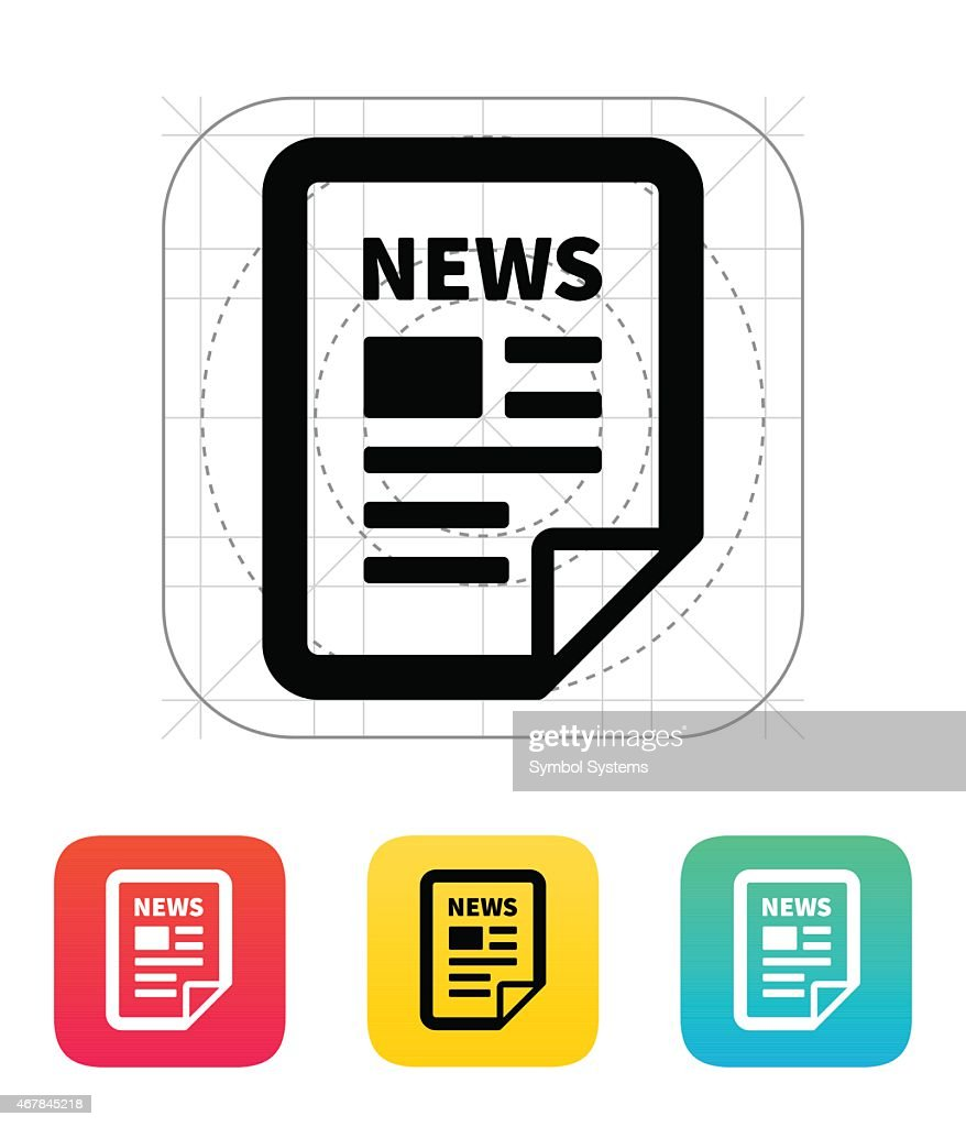 News file icon