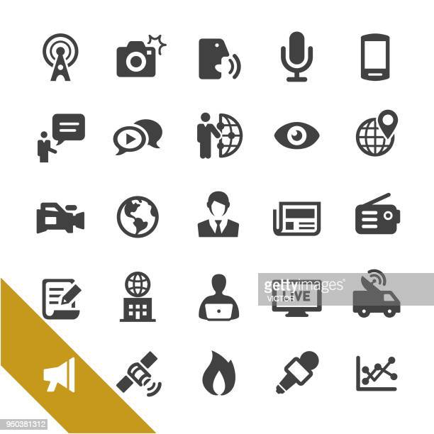 News Media Icons - Select Series