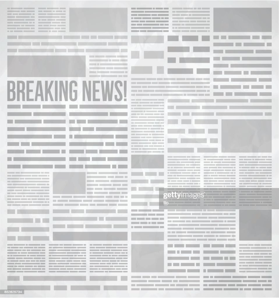 newspaper background vector art getty images