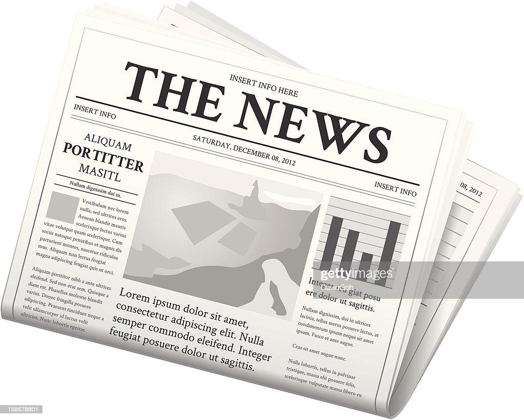 Newspaper - Folded