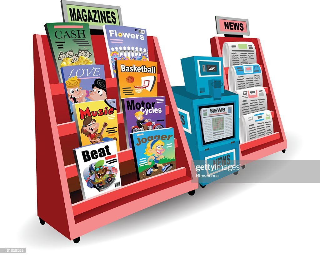 Newsstand : Vector Art