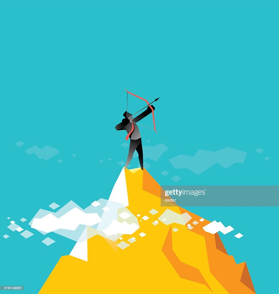 Next target for the future : stock illustration