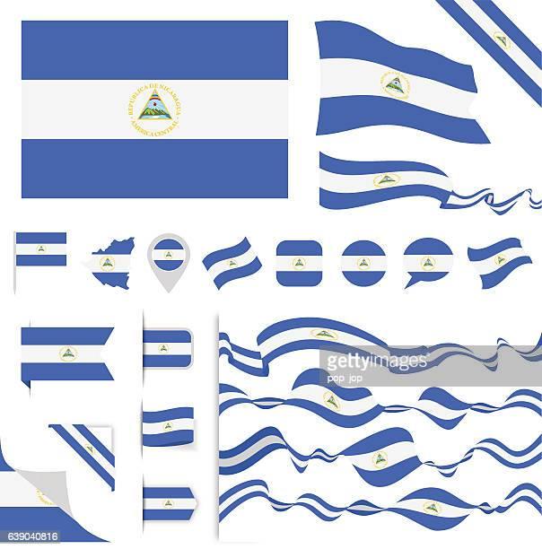 Nicaragua Flag Set