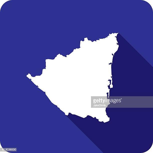 Nicaragua Icon Silhouette