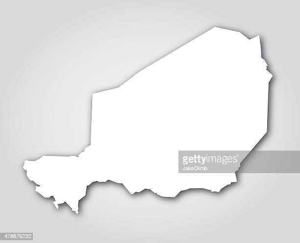 Niger Silhouette White