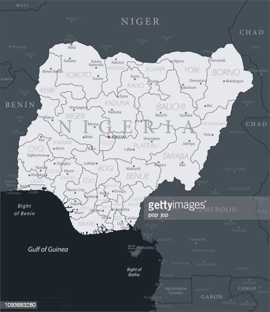 19 - Nigéria - gris noir 10