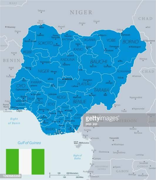 33 - Nigéria - bleu-gris 10