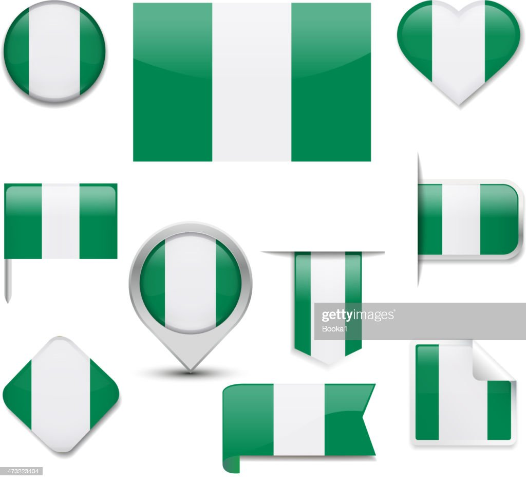 Nigeria Flag Collection