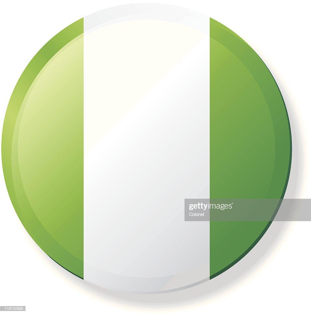 Nigeria Lapel Flag