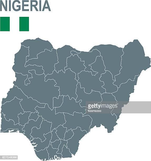 illustrazioni stock, clip art, cartoni animati e icone di tendenza di nigeria - nigeria