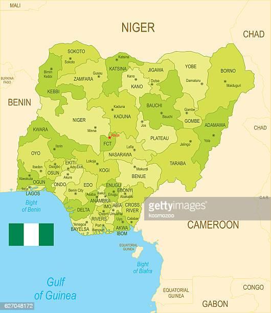 ilustrações de stock, clip art, desenhos animados e ícones de nigéria - nigéria