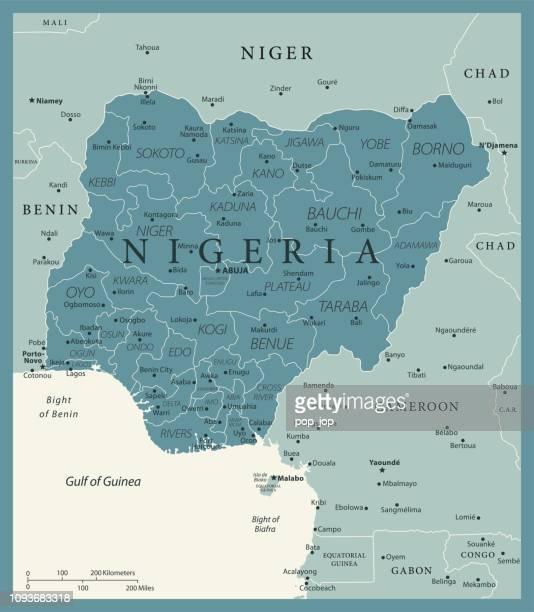 24 - Nigéria - Vintage Murena isolé 10