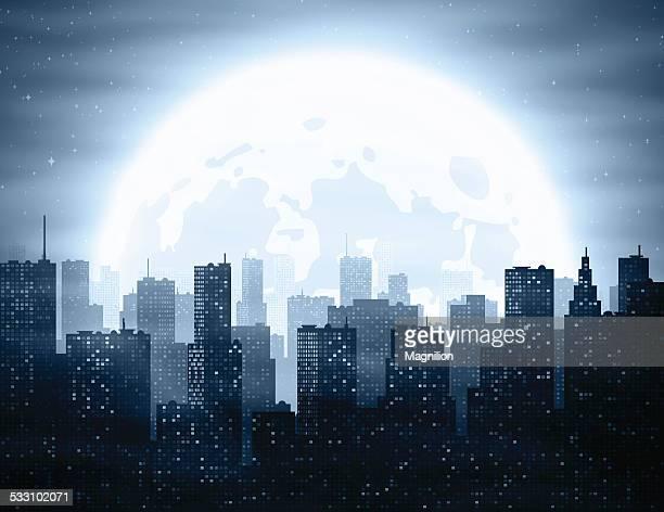 Ville de nuit